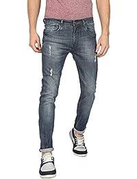 BEAK Men's Slim Fit Denim Jeans - BEAK-MJ-022A - 32