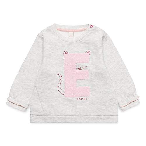 ESPRIT KIDS ESPRIT KIDS Baby-Mädchen Sweatshirt Grau (Light Heather Grey 221) 62