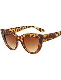 HONG Occhiali da sole di moda, pizzo metallico occhiali da sole, D.