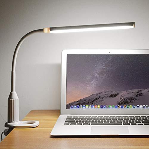Mini Folder Lamp Lamp Lamp Lamp 5W 24 Leds Eye Protect Clamp Clip Light Stepable Dimmable Usb Powered Touch Sensor Led Power-ac-powered Sensor