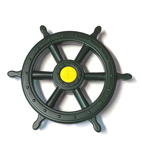 GK Piraten Steuerrad Schiffslenker für Spielturm, grün
