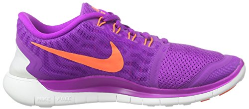 Nike Wmns Free 5.0 - Scarpe sportive Donna Viola (Violett (Vvd Prpl/Hypr Orng-Blk-Fchs Gl 503))