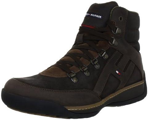 Tommy Hilfiger COLE 3 FM56814764, Herren Fashion Sneakers, Braun (COFFEE