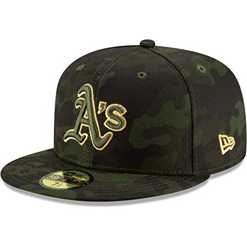 New Era 59Fifty Armed Forces Cap - MLB Oakland Athletics Oakland Athletics Design