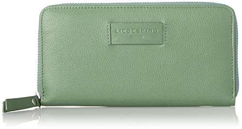 Liebeskind Berlin Damen Essential Sally Wallet Large Geldbörse, Grün (Hedge Green), 2x9x19 cm