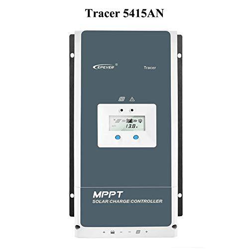 EPEVER® Regolatore di carica solare 50A serie MPPT Tracer AN con 12V/24V/36v/48v Auto Max 150V 2500W Regolatore solare per messa a terra negativa adatto per batteria piombo-acido