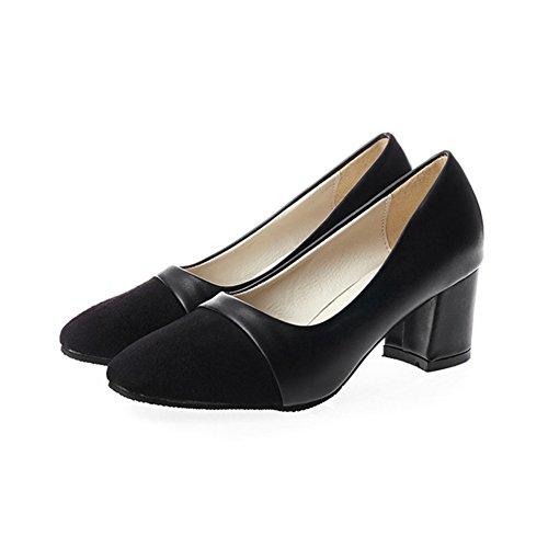 Printemps et automne Lady Joker shoes/Talon haut/léger brut avec souliers pour dames des/Chaussures occasionnelles A