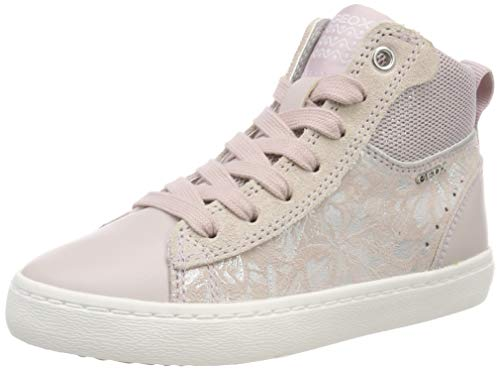 Geox Mädchen J Kilwi Girl D Hohe Sneaker, Pink (Rose C8011), 39 EU - Sneakers Mädchen Mid