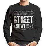The Strength of Street Knowledge NWA Straight Outta Compton Lyrics Men's Sweatshirt