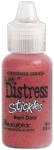 Brand New Tim Holtz Distress Stickles Glitter Glue .5oz-Barn Door