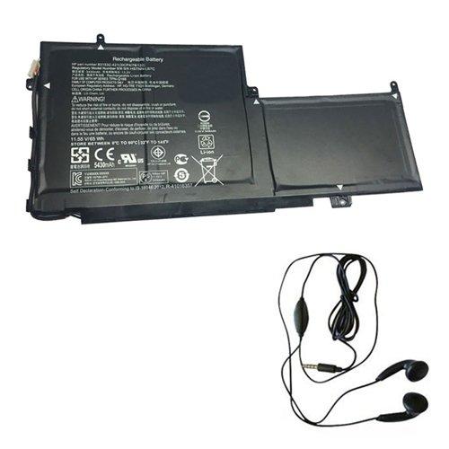 amsahr PG03XL-03 Ersatz Batterie für HP PG03XL, PG03064XL, 831758-005 (11.55V, 65Wh) Umfassen Stereo Ohrhörer schwarz