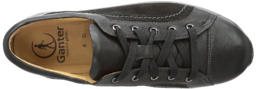 Ganter Gianna, Weite G 6-204418-01000 Damen Sneaker Schwarz (schwarz 0100)