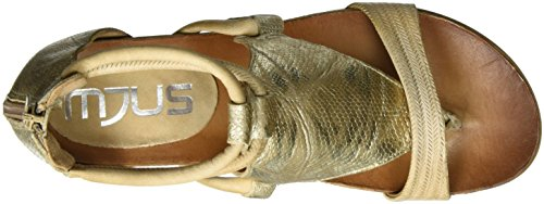 Mjus 221006-0901, Sandales  Bout ouvert femme Gold (Blonde+Oro+Blonde)