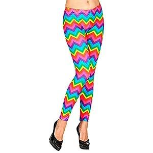 WIDMANN Leggings diseño de arcoíris.