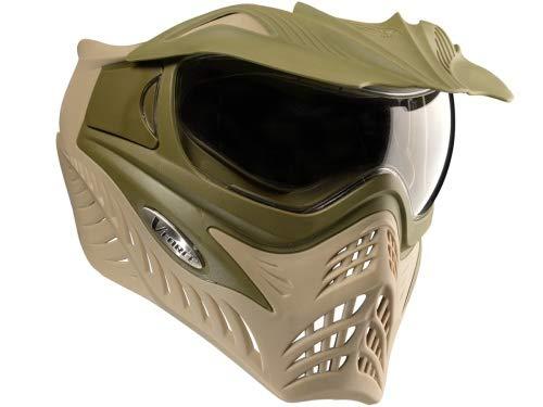 Paintball Maske V-Force Grill Swamp Oliv/braun Thermalglas