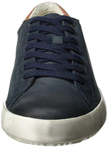 Tamaris Damen 23659 Sneakers Blau (NAVY/COGNAC 804)