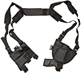 Nitehawk - fondina ascellare tattica per pistola - destra - polizia e security - nero