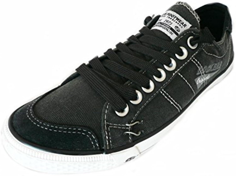 Dockers by Gerli 30ST027 Herren Sneaker Washed Canvas Schuhe Viele Farben  Größe:EU 48   UK 12.5 31.8 cm  Farbe