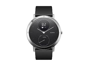 Nokia Steel HR, Aktivite, Fitness ve Nabız Takibi, Siyah, 36mm Hibrit Akıllı Saat