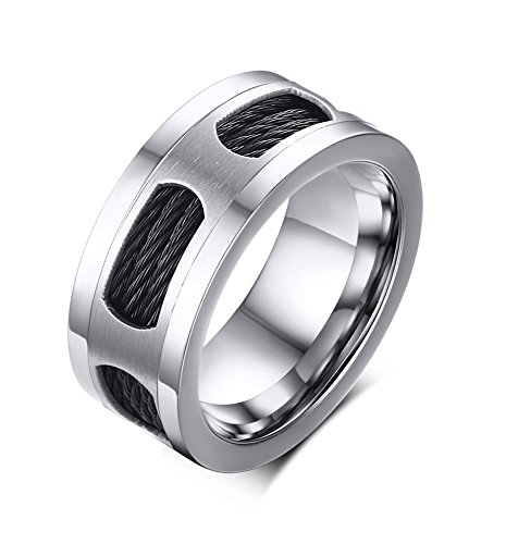 vnox-mens-stainless-steel-3-black-cable-wire-twist-band-wedding-engagement-ring-silver-uk-size-x-1-2