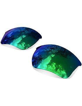 Sunglasses Restorer Lentes de Recambio Polarizadas Sapphire Green para Oakley Half Jacket 2.0 XL