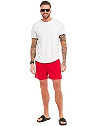 Mens Swim Shorts Boys Mesh Lining Swimwear Swimming Board Running Sports Gym Summer Holiday Beach Surf Men Surfing Swimmer Lined Short Casual Comfort Fit Trunks Pants With Pockets