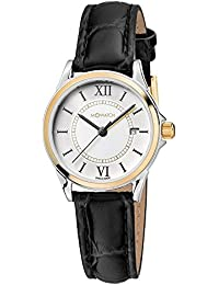 M-WATCH Timeless Elegance Analog White Dial Women's Watch-WRE.60210.LB