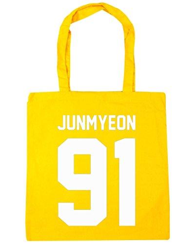 hippowarehouse-junmyeon-91-tote-shopping-gym-beach-bag-42cm-x38cm-10-litres