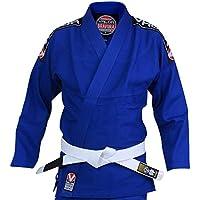 Valor Bravura BJJ GI blauer Kampfsportanzug inklusive weißem Gürtel
