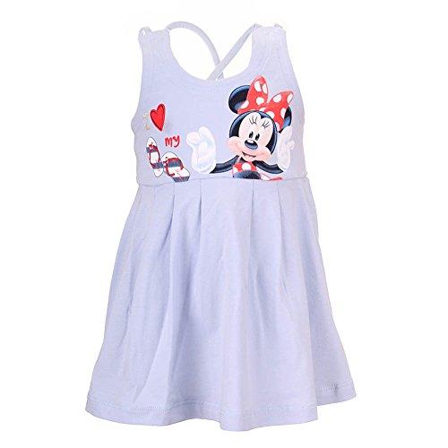-Mädchen Kleid 71205, Blau (Blau 640), 80 (Minnie Kleid Für Kleinkinder)