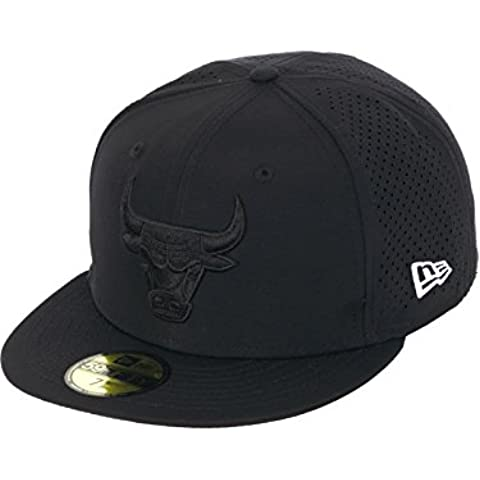 Gorra New Era 59Fifty Nba Sports Perf Chicago Bulls Negro-Negro (7 1/4