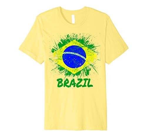 Brazil Soccer Jersey Shirt Flag Brasil Men Women Kids - Brasil Flag T-shirt