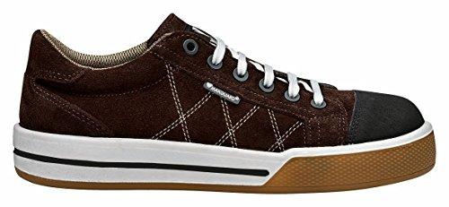 S360 SAMUEL Sneaker Sicherheitsschuh Halbschuh braun S1P (41)