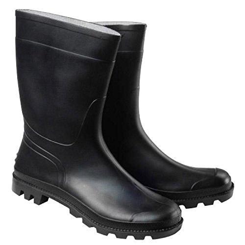 WOLFPACK 15010178 Stivali bassi in gomma, colore: nero, misura
