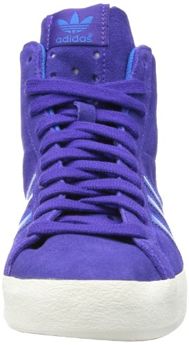 adidas Originals Basket Profi W, Baskets mode femme Violet (Purple/Bluebird/White)