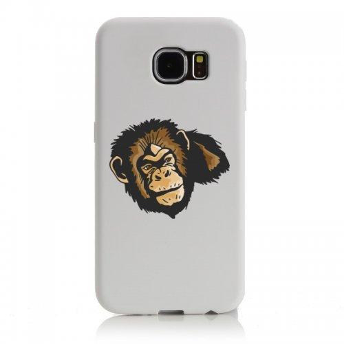 Smartphone Case testa di scimmia Wilderness giungla Australia foreste per Apple Iphone 4/4S, 5/5S, 5C, 6/6S, 7& Samsung Galaxy S4, S5, S6, S6Edge, S7, S7Edge Huawei HTC-Divertime