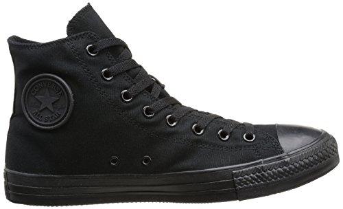 Converse All Star Hi Canvas, Sneaker Unisex – Adulto Nero (Black Mono)