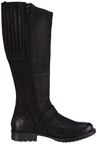 s.Oliver 25601, Bottes femme Noir (black Antic 002)