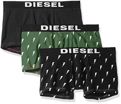 Diesel Herren Boxershorts UMBX-Shawnthreepack 3er-Pack Khaki (44) XL
