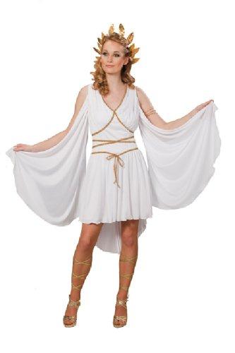 Karneval Damen Kostüm Griechische Göttin Kleid Fasching Größe (Erwachsene Kostüme Ruby Göttin)
