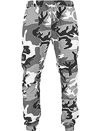 URBAN CLASSICS - Camo Ripstop Jogging Pants (snow camo)