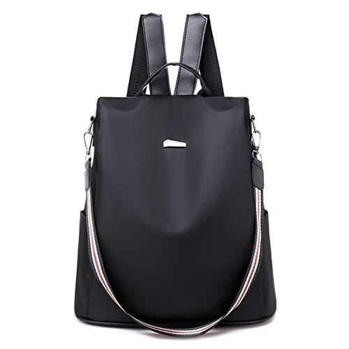 0d5a556a9 HWX Women es Backpack Purse Waterproof Anti-Theft Leichtgewicht  Schultertasche,Black,32 *