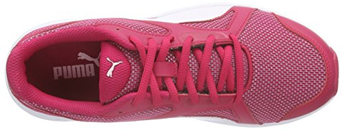 Puma Axis v4 Mesh, Sneakers basses mixte adulte Pink (rose red-white 03)