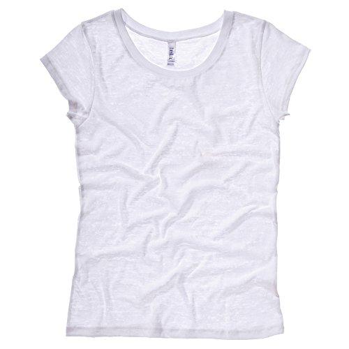 Bella Canvas - T-shirt - Femme Blanc - Blanc