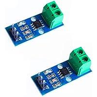 Movilideas 2 pcs ACS712 ACS712ELC Modulo Sensor de Corriente 30A