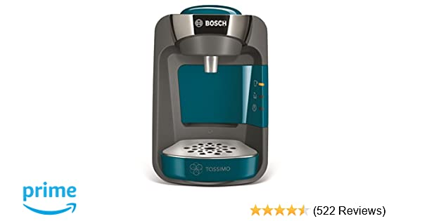 Bosch Tassimo Suny Tas3205gb Coffee Machine 1300 Watt 08 Litre Blue