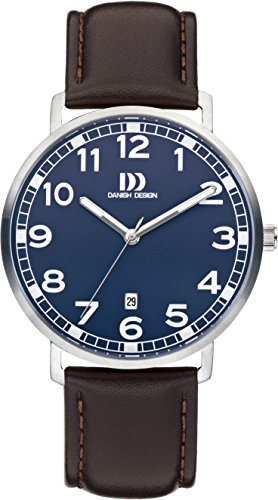 Danish Design Men's Analogue Quartz Watch with Leather Strap DZ120619