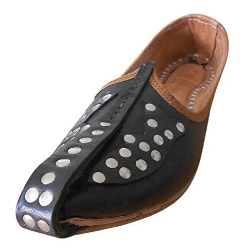 Kalra Creations, Chaussons Homme Noir
