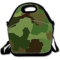 Camouflage Grün Armee Design Print Isolierte Lunch Tasche Lunchbox für Schule Arbeit one size Green Camouflage Army Design1 preisvergleich bei kinderzimmerdekopreise.eu