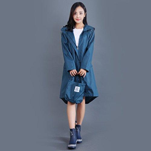 R&jacke C&L Adult Mode Trenchcoat Regenmantel Poncho, Regenmantel Girl Fashion Poncho Adult Damen Windbreaker Regenmantel Reisen eine trockene Ultra leichte Regenmantel (Farbe : C, größe : L)